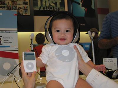 ipod beb�s