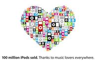 100 millones de iPods vendidos y contando