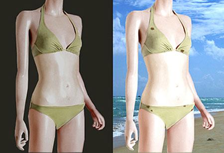 Bikini concienzudo