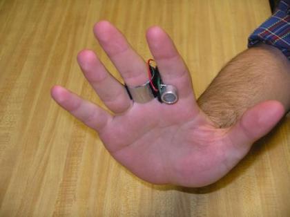 El primer mouse por ultrasonidos