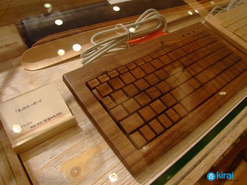 Teclados de madera