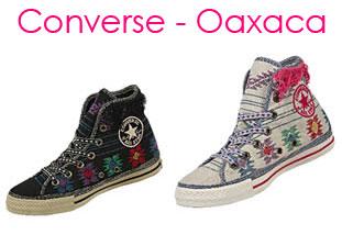 Converse lanza modelos con motivos de Oaxaca