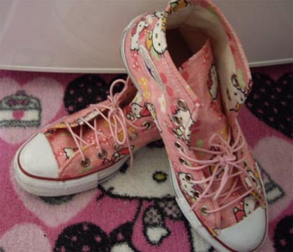 Converse de Hello Kitty