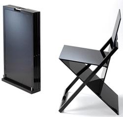 Una silla muy plegable