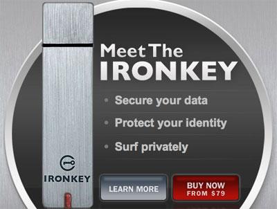 USB iron key: la usb mas segura del mundo.