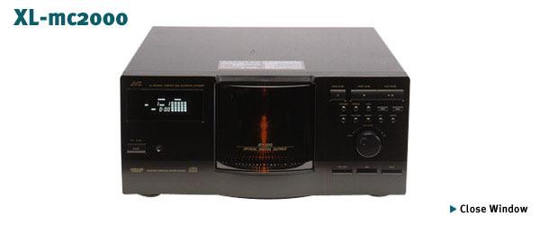 Cambiador de CD's para 200 discos de JVC