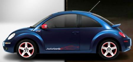 Nuevo Beetle HotWheels 1