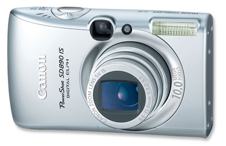 Nueva PowerShot SD890 IS