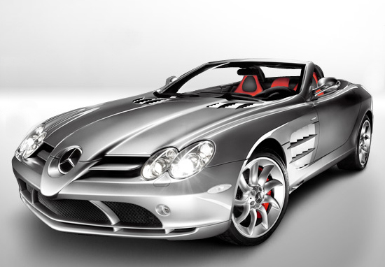 SRL Roadster de Mersedez Benz 1