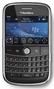 El nuevo smartphone BlackBerry Bold en Telcel