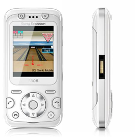 Nuevo F305 de Sony Ericsson 1