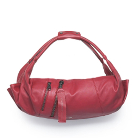 Ball Piel bandolera Red