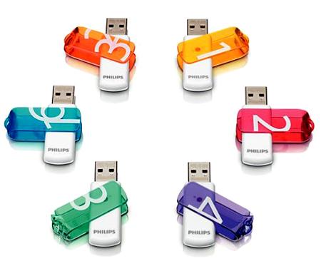 Unidad flash USB de Phillips 1