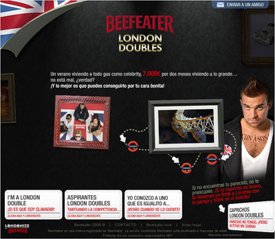 Beefeater London Doubles
