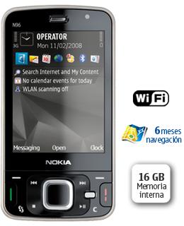 Nuevo Nokia N96