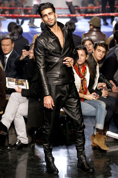 "El  ""Fight Look"" de Jean Paul Gaultier"
