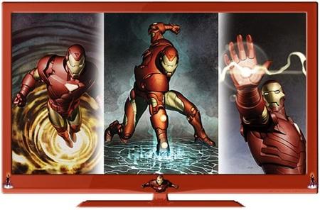 TVs, LCD y LED con los personajes de Marvel