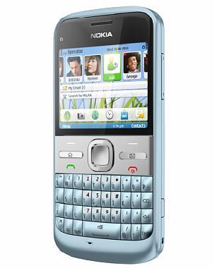 Nuevos Nokia C3, E5 y C6