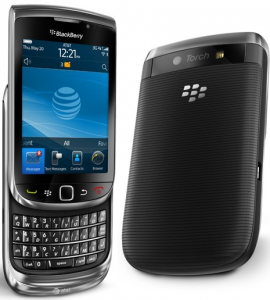 BlackBerry 9800 Torch 1