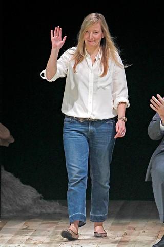 Sarah Burton, directora creativa de Alexander McQueen