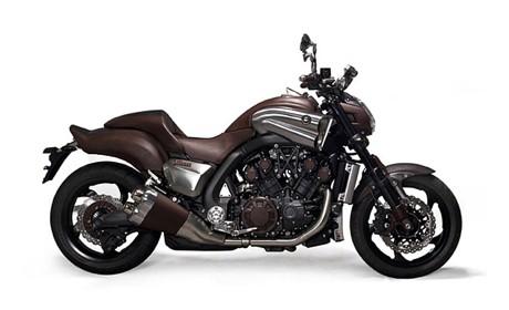 VMax, la motocicleta creada por Hermés y Yamaha