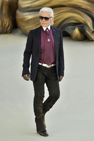 Karl Lagerfeld prepara colección para Macy's