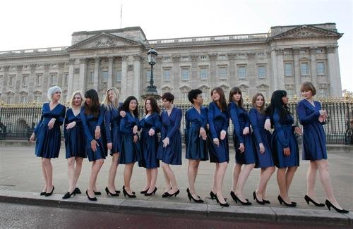 Estudiantes de arte imitan a Kate Middleton 2