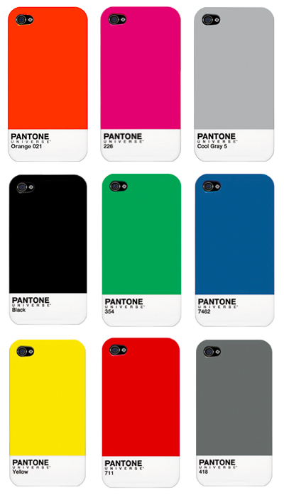 Pantone iPhone cases 2