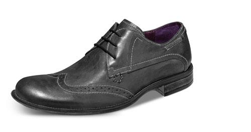 Zapatos vintage gris de Schatz 2