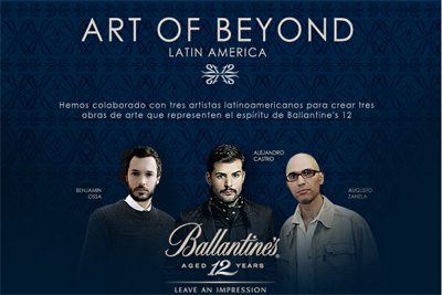 Ballantines's Art of  Beyond Latin America