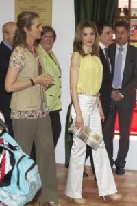 Elena y Letizia Feria del Libro