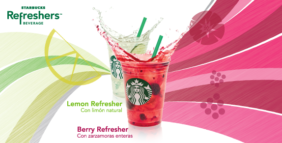 Starbucks Refreshers.