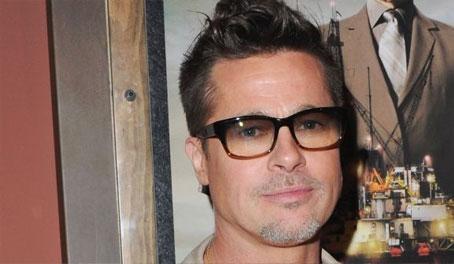 Brad Pitt con piocha
