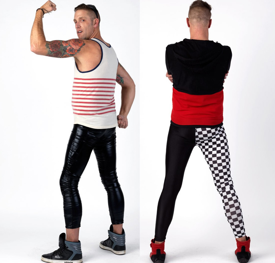Meggings_Man_-black-checkered