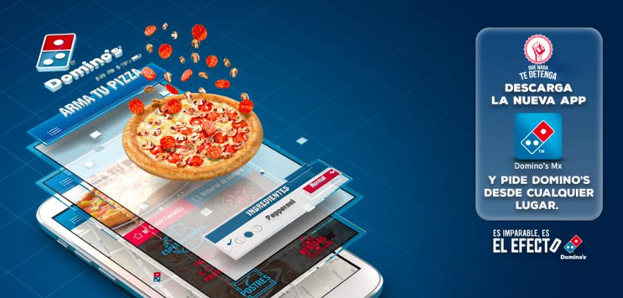 Domino's Pizza desde tu celular